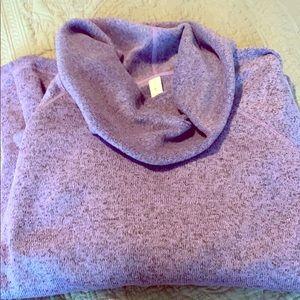 Idealogy purple sweatshirt